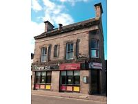 For Lease Chapter One Restaurant. 39 High Street, Forres, IV36 1PB.