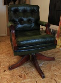 Chesterfield Arm chair Green