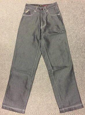 FTP Jeans Carpenter Schwarz Cotton Denim Skater Style W25 oder W26 1A ungetragen Carpenter Style Jeans