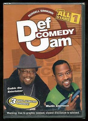 Def Comedy Jam: More All Stars - Vol 1 (DVD) Cedric The Entertainer, Bruce