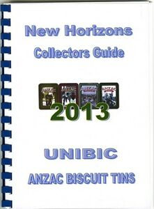2013 New Horizons Unibic Anzac Biscuit Tin Limited Edition Guide