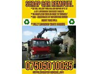 Cash for scrap cars vans truck wanted