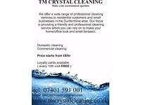 Commercial - domestic cleaning company which cant be missed