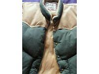 Schott Vintage Sleeveless Men's Jacket Size L