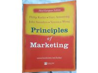 Principles of Marketing books/book – post or collect