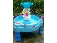 Little Tikes Spinning Seas Water Activity Table Garden Toy