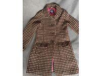 Girls Boden Coat she 11-12