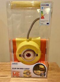 Despicable Me Minion Clip On Bed Light - Brand New/Unopened