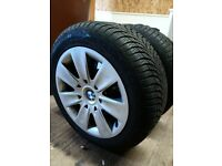 Be winter ready, Winter car tyres for BMW WG 205/ 55 R16, Excellent condition hardly used