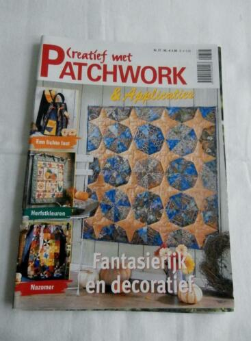 """ Creatief met Patchwork "" N 27 ( en applicaties )"