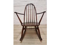 Vintage Ercol Rocking Chair (DELIVERY AVAILABLE FOR THIS ITEM OF FURNITURE)