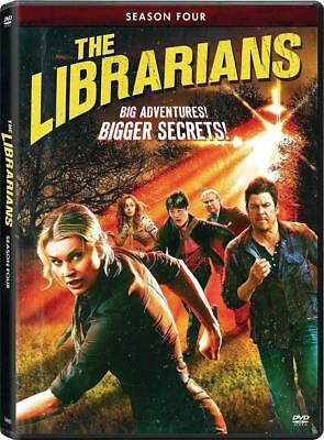 BRAND NEW SEALED THE LIBRARIANS COMPLETE SEASON 4 FOUR 4TH (DVD) PRE-ORDER !