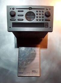 Vauxhal Vectra CD Changer Sat Nav Head Unit Complete with Nav Disc
