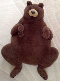Large soft cuddly Bear cosy - ideal for child lounger or pet cushion/bed