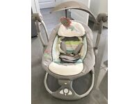 Ingenuity 2 in 1 baby swing - immaculate condition