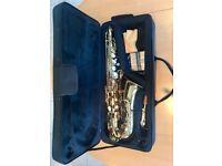 Windsor Alto Saxophone with hard case and stand