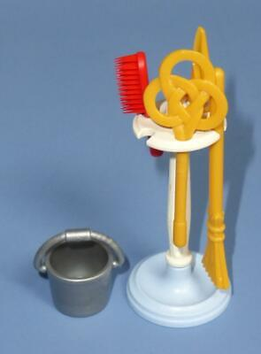 Playmobil Victorian Mansion Kitchen Stand & Cleaning Utensils -  House from 5322