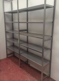 Stainless Steel Shelving Units - Excellent Condition