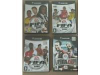 Fifa 03, 04, 05 & 06 Nintendo GameCube