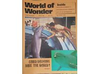 Vintage 1970's 'World of Wonder' magazine edition number 213.