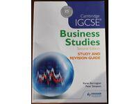 Cambridge iGCSE Business Studies (Second Edition) Revision Guide