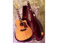 Cole Clark FL2AC 'Fat Lady' Electro Acoustic Guitar & Hard Case