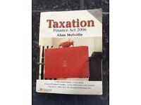 Taxation finance act book