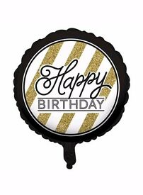 ☆ Foil Helium Birthday Balloon ☆ New in packet