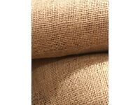 ***Hessian (jute) length for table runners/decorations/craft/rustic/shabby chic*** 180X240cm