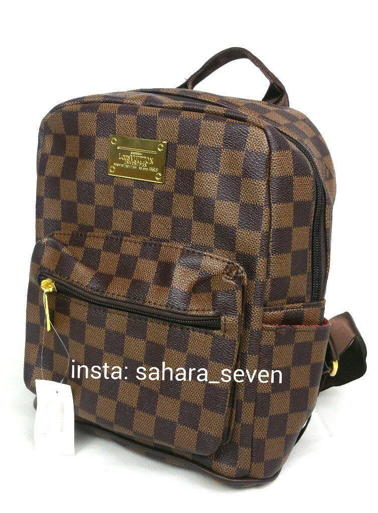 647f48ee6ef Small Ladies Backpack Rucksack Louis Vuitton bag Lv Handbag Speedy Girls  Neverfull £30