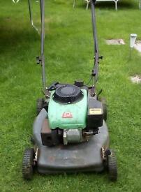 Performance power petrol Lawnmower