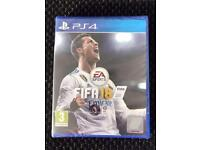 FIFA 18 PS4 NEW SEALED UNWANTED GIFT