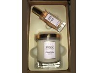 Coco chanel mademoiselle candle & fragrance gift set