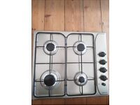 Stainless steel brand new hob
