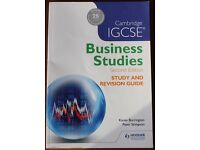 Cambridge iGCSE Business Studies (Second Edition) Revision Guide