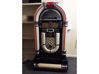Steepletone Retro Jukebox Vintage