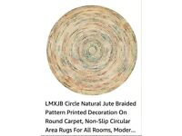 Gorgeous circular carpet