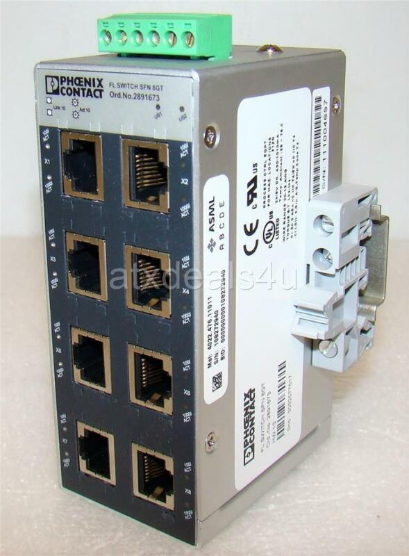Phoenix Contact 2891673 FL Switch SFN 8GT Ethernet Switch