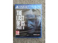 The last of us part 2 II for Playstation 4 SEALED NEW