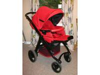 Bebecar 3-in-1 Pushchair Travel System (Pram/Buggy)