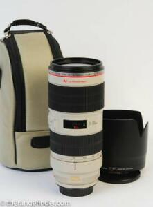 Canon 70-200mm f2.8 L IS Version II