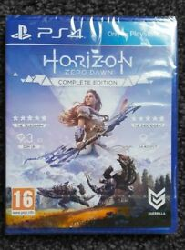 NEW SEALED Horizon Zero Dawn - Complete Edition - Playstation 4 Game - Amazing PS4 Action Adventure