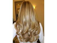 Hair extensions offer 40% off £230 russian hair lasts up to a year, celebrity tape in, micro, bonds