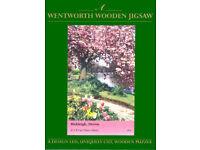 WENTWORTH WHIMSY WOODEN JIGSAW- BICKLEIGH, DEVON- 140 pieces