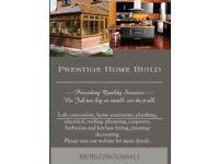 Prestige Home Build, Providing Quality Services. No Job Too Big or Small, We Do It All.