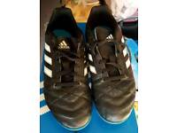 Adidas football boots. Size 3