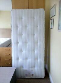 Brand new, high quality, orthopaedic single mattress, two thousand pocket sprung
