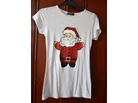 Cute Christmas T-Shirts. Santa, Penguin or Rudolph. Wholesale. 6 t-shirts for £15! Car boot idea.