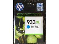 New HP 933XL Cyan Ink Cartridge