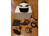 PS4 VR Headset + Eye V2 Camera Playstation 4 Virtual Reality Head set + Demo Game Games Bargain